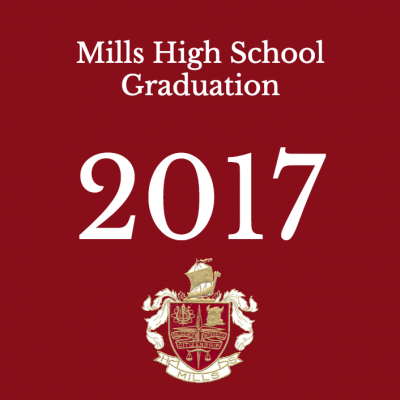 Mills High School Graduation